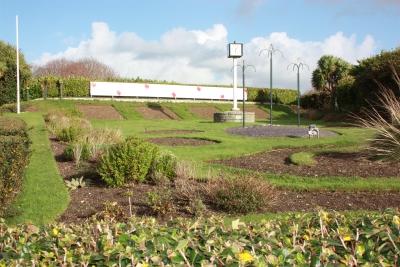 Garden behind Cenotaph