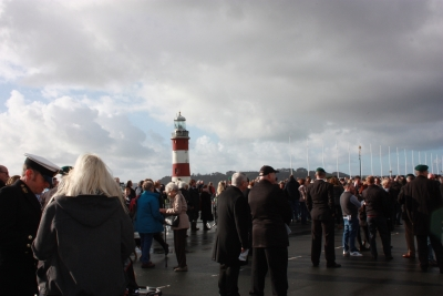 Gathering at the Cenotaph (2)