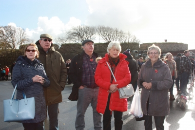 Gathering at the Cenotaph (4)