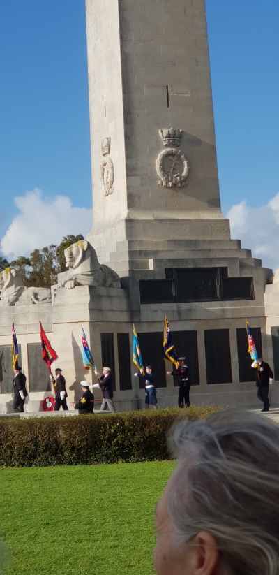 Gathering at the Cenotaph (6)