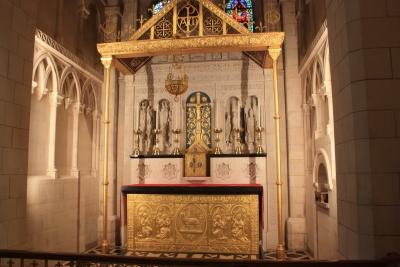 Inside Buckfast Abbey (1)