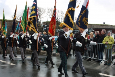 Soldiers and Veterans March Past (6)