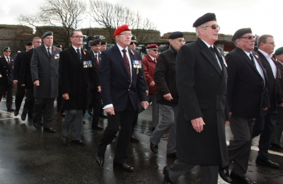 Soldiers and Veterans March Past (8)